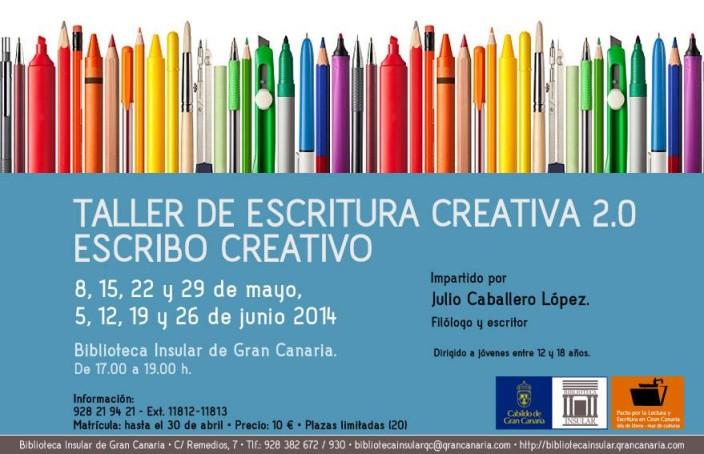 Taller de Escritura Creativa en la Biblioteca Insular de Gran Canaria